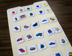 Folder Activities With Velcro: Miscellaneous Sorting and Comparing