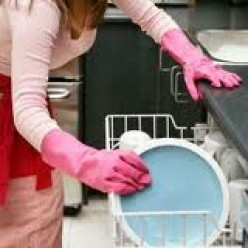Loading and running the dishwasher sometimes is a chore doable later. Learn to let it go.