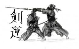 Kendo is sport of sword fighting where Shinai.