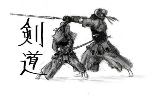Kendo is sport of sword fighting where Shinai.