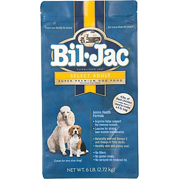 Bil Jac dog food