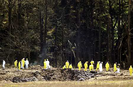 Search and Recover at the Flight 93 Crash Site