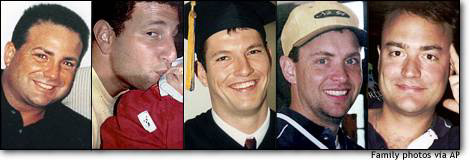 The Heroes of Flight 93,  These are the Faces of the Men Who Tried To Stop The Hijacking of Flight 93, Subsequently Causing the Plane to Crash in a Field in Pennsylvania, and Giving Their Lives, To Stop the Potential Slaughter of Thousands More.