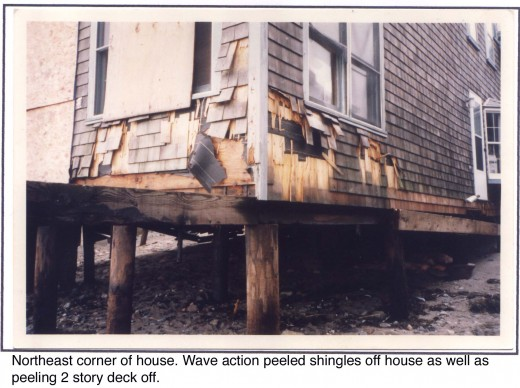 The 1991 Halloween Storm was just touch less high as the Blizzard of 78, a greater surge on a lesser tide.