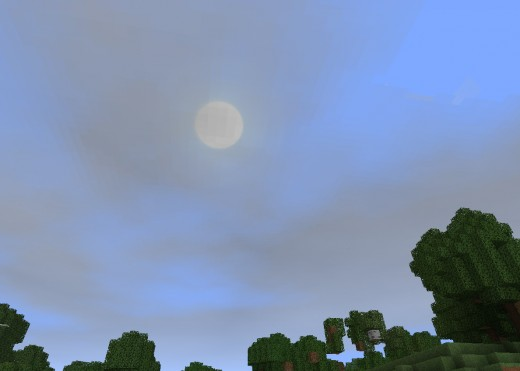 Ohh! Smugdy enhanced clouds! More Minecraft mod reviews can be found on: