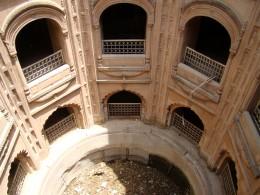 The Shahi Bauli or Royal step-well