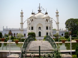 The beautiful mosque inside the Chhota Imam Bargah
