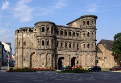 The Porta Nigra, Trier, Germany, best preserved Roman building north of the Alps