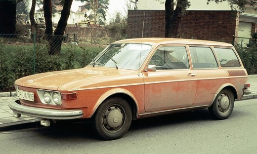 Type 4 Volkswagen, which were the sedans and station wagons.