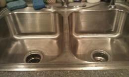 Whoo Hoo!  All clean and shiny again!