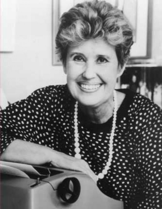 The late, great, author and humorist, Erma Bombeck. Thanks Erma.
