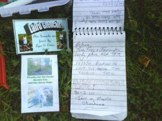 The Geocache's Contents
