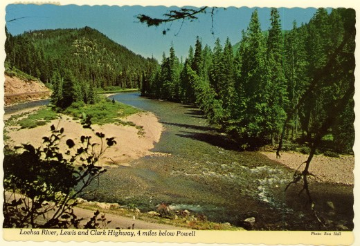 Lochsa River, Lewis and Clark Highway