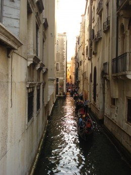Narrow Canal of Venice Tour
