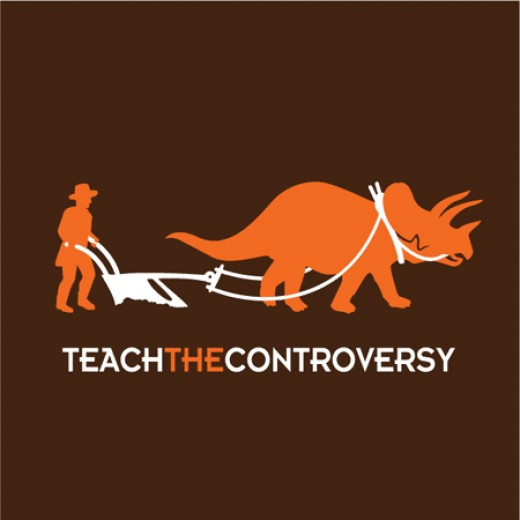 Jeremy Kalgreen's Teach The Controversy T-shirts (http://controversy.wearscience.com/)
