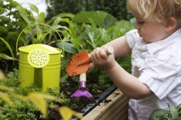 Going green with your little one