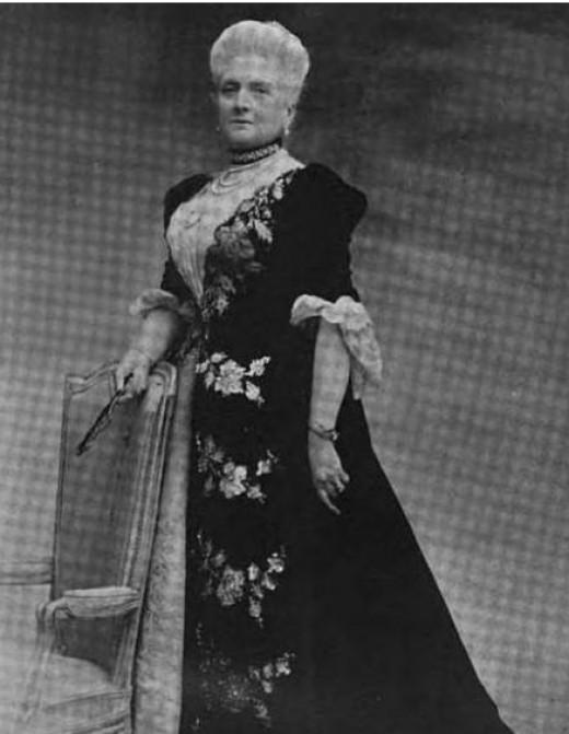 Harriet Lane Johnston, Paris 1898.