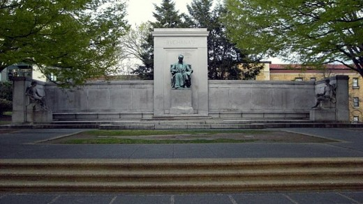 James Buchanan Memorial, Washington DC, the memorial that almost wasn't