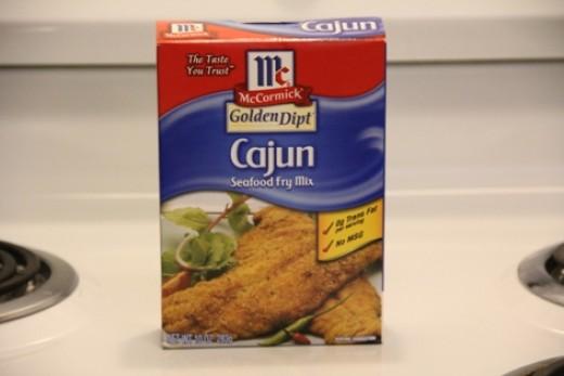 McCormick Cajun Seafood Fry Mix