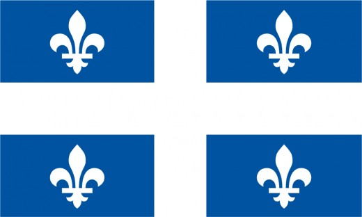 Flag of Quebec