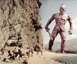 Talos attacks the Argonauts