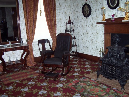 Lincoln parlor