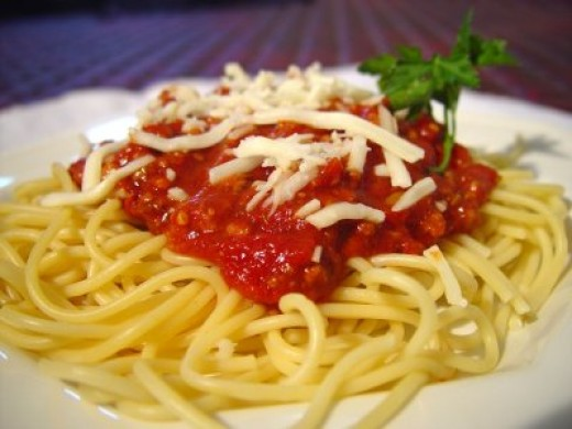 Spaghetti Dinner - Minimum outlay with maximum return.