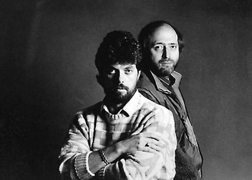 Alan Parsons (left) and Eric Woolfson (right), founders of The Alan Parsons Project.