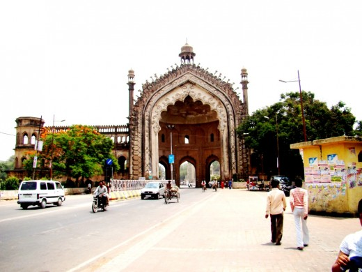 Rumi Darwaza from the front 2