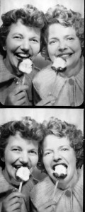 Restored Photo Booth Photo