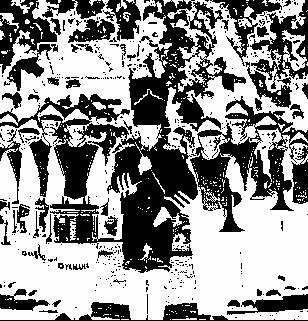 Paying attention to the little things like the make up of the marching band provides a reflection of the society.