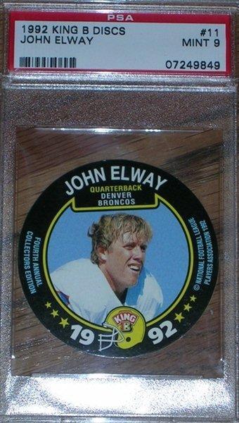 1992 King B Discs Elway