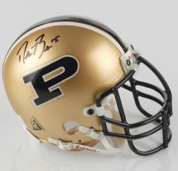 Who keeps this crap?  I could probably sell this on e-Bay, but some dummy (Drew Brees) wrote his name in PERMANENT MARKER.  OMG, people are so stupid!