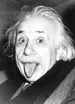 """Einstein's hair also surpasses Newton's theory."""