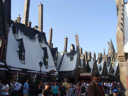 The Wizarding Town of Hogsmeade