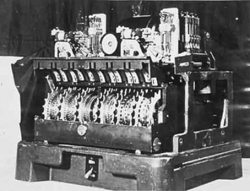 The Lorenz Enigma machine