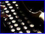 Typing short stories on the typewriter - this brings me back!