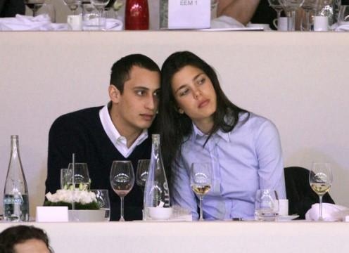 Charlotte Casiraghi and her boyfriend Alexander Dellal