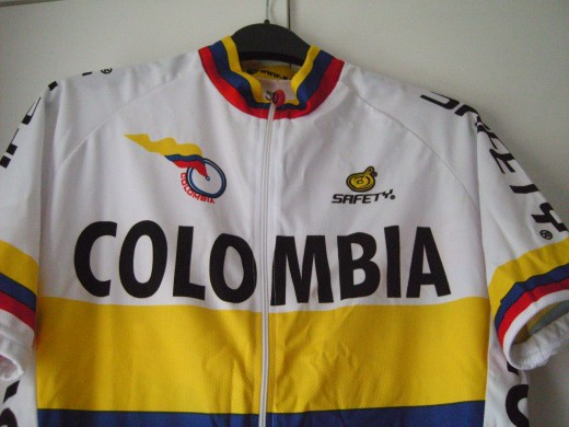 Colombia National Kit from Prendas Ciclismo