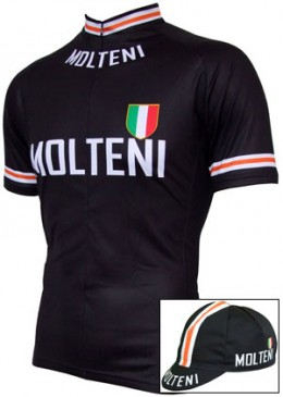 Retro Molteni Kit as worn by (Eddy Merckx)