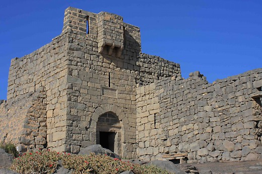 The Blue Fort of Qasr al-Azraq