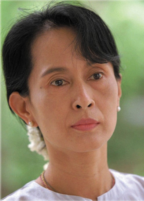 Aung San Suu Kyi of Burma is not only beautiful , but also one of the world's most amazing women. Look her up if you are not familiar with her heroism and courage.
