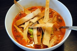 Tortilla Soup:  Transforming A Recipe for a Vegetarian Lifestyle