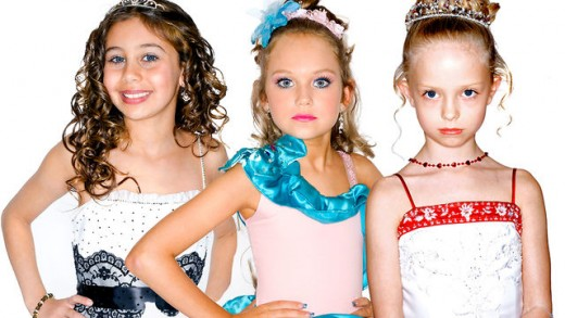 """Little Miss UK"" contenders. Can you guess which girl has God on her side?"