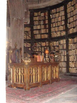 Dumbledore's Office.  There is a 3d video image of him in the back of the room.