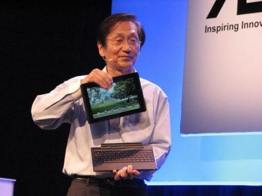 ASUS Eee pad Transformer being revealed