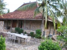 A   Karimunjawa traditional house.