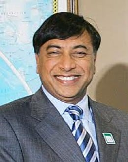 8) LAKSHMI MITTAL, 58 years old, $19.3 B, India (Res. UK), Arcelor Mitta