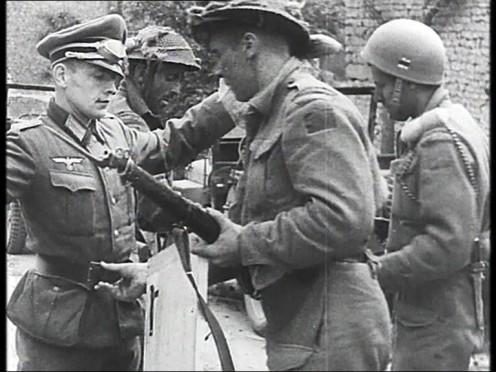 German surrender at the Falais gap