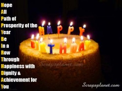 Some Birthday SMS And Scraps That I Want To Dedicate To My Beloved One.